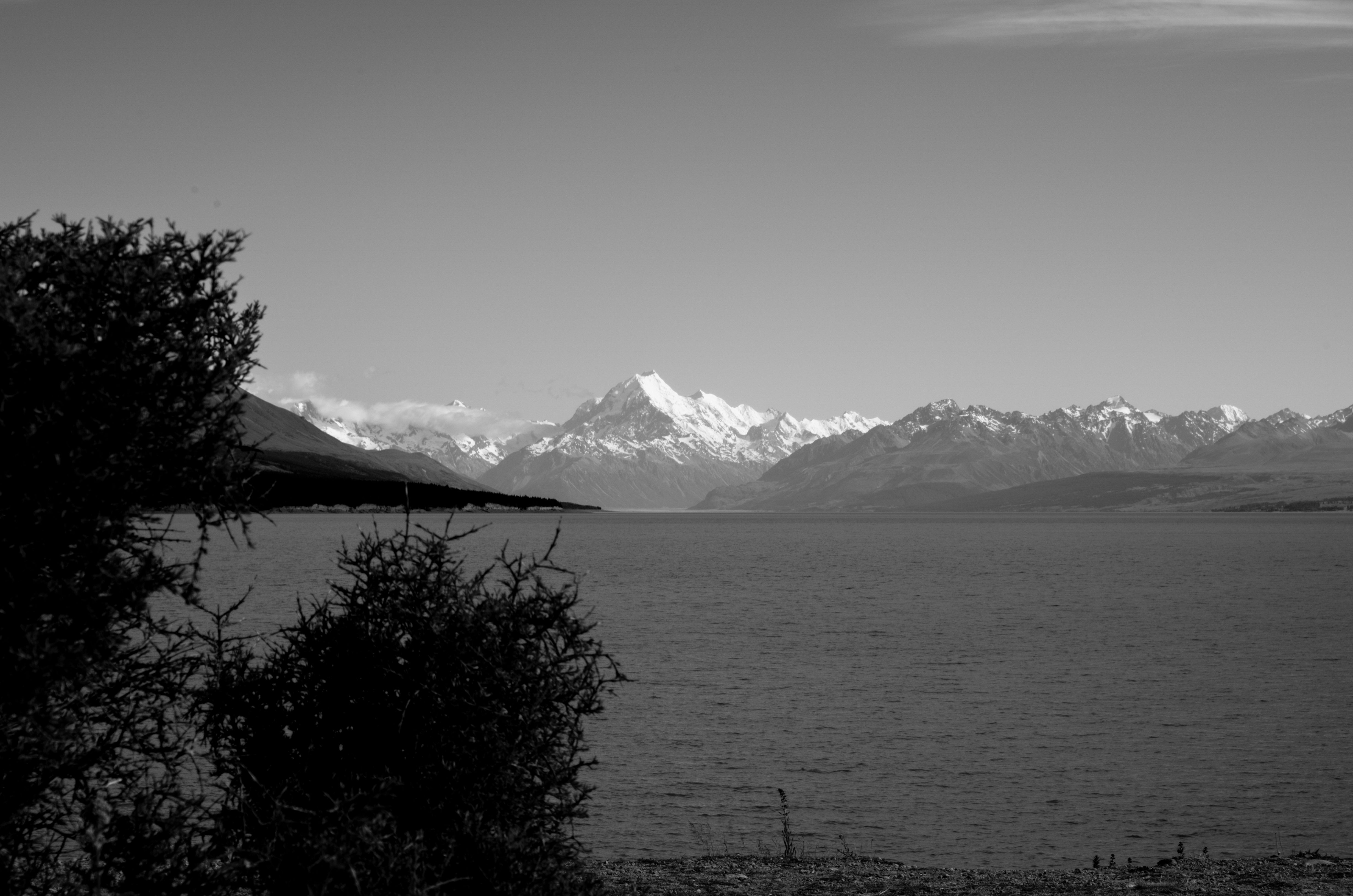 Mount Cook from Lake Pukaki NZ