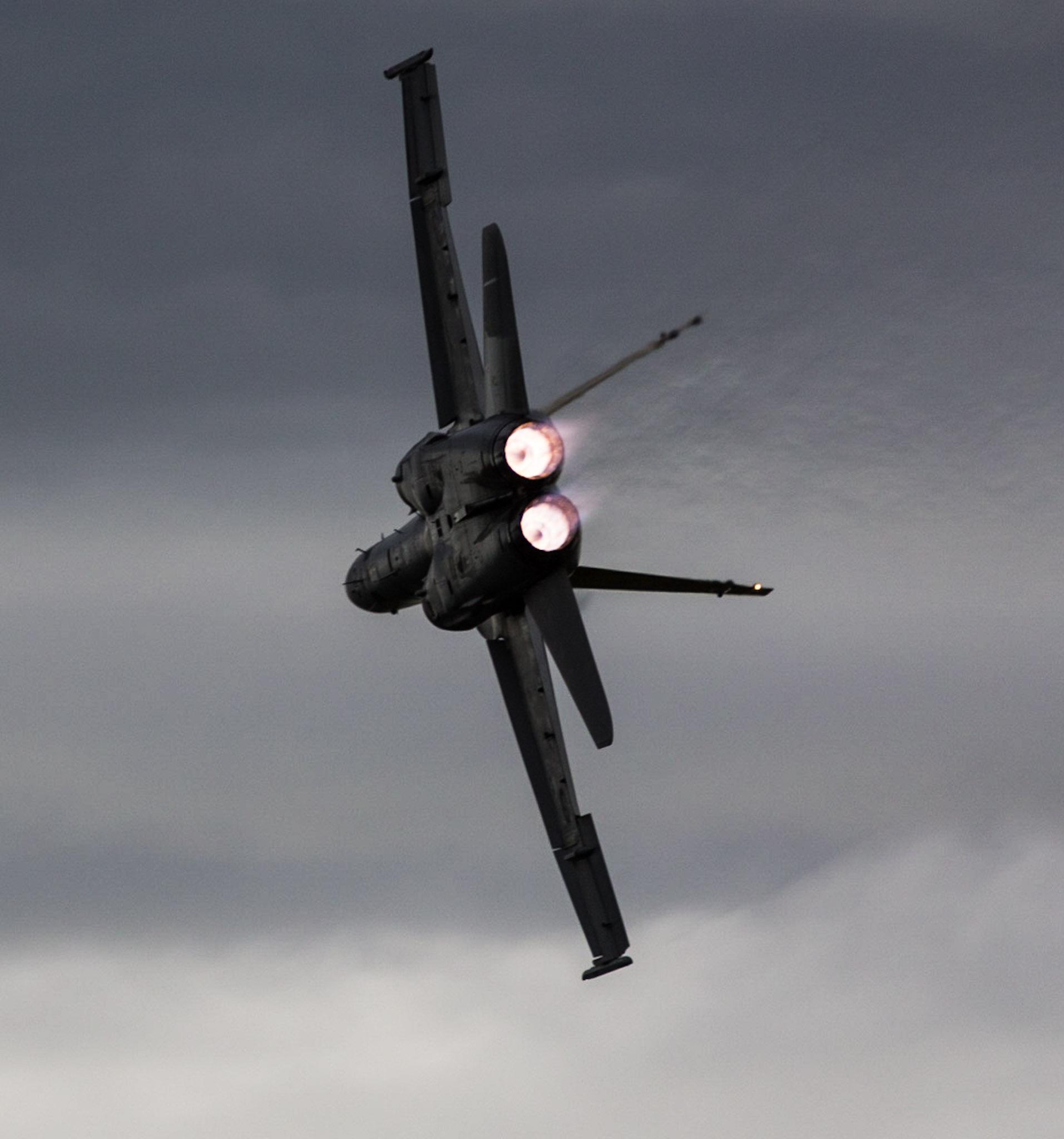 FA18 Hornet Going Home