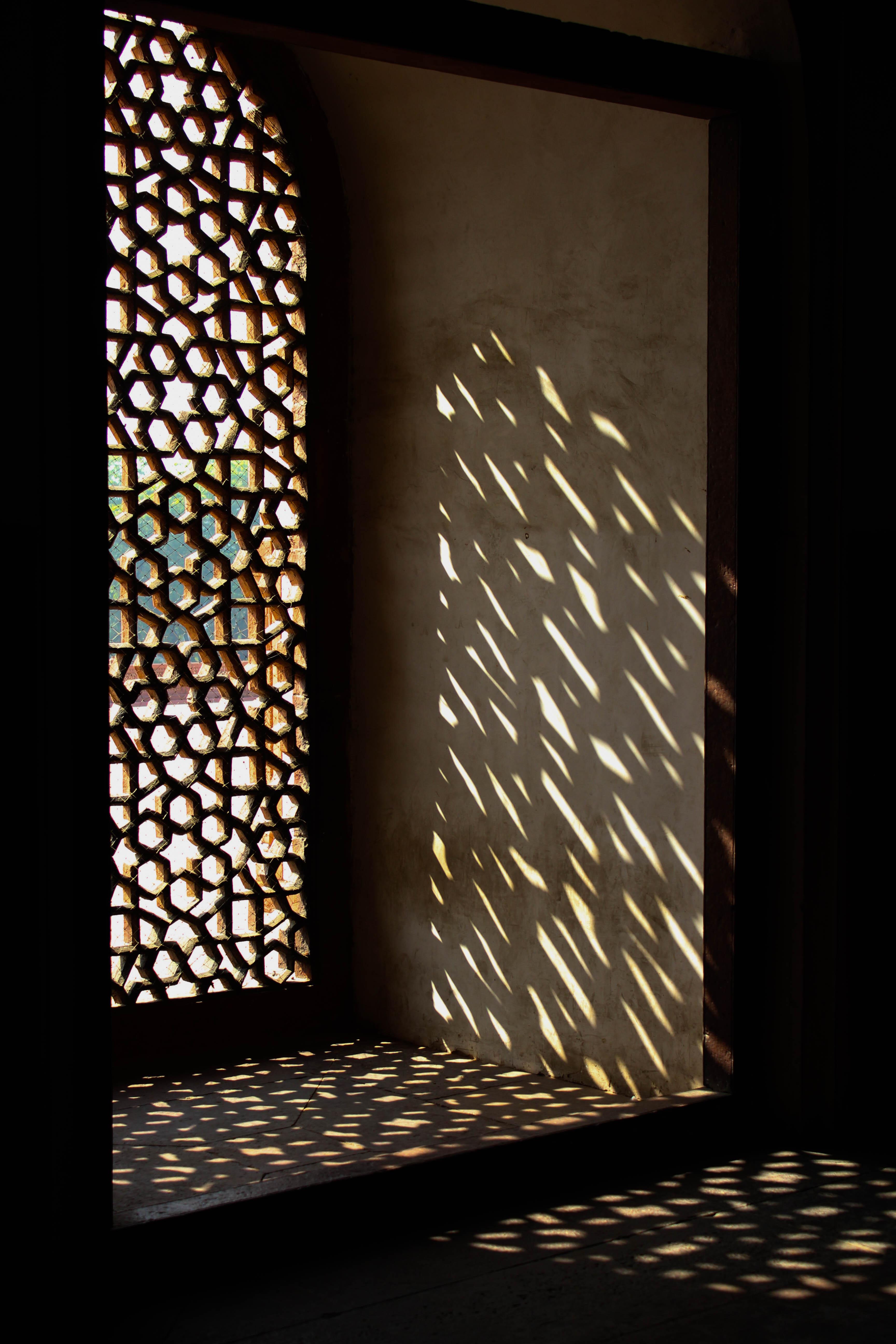 India, Mogul palace window screen