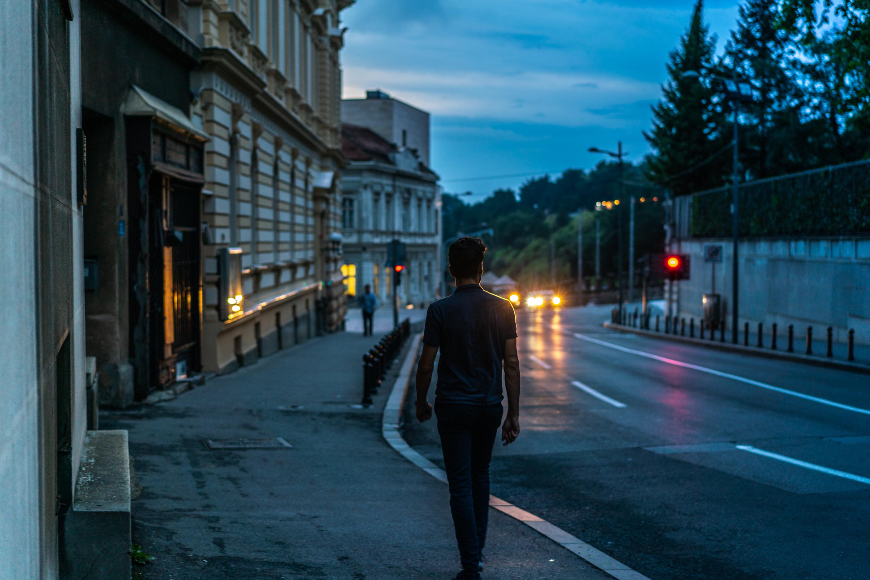 Belgrade Street at Dusk