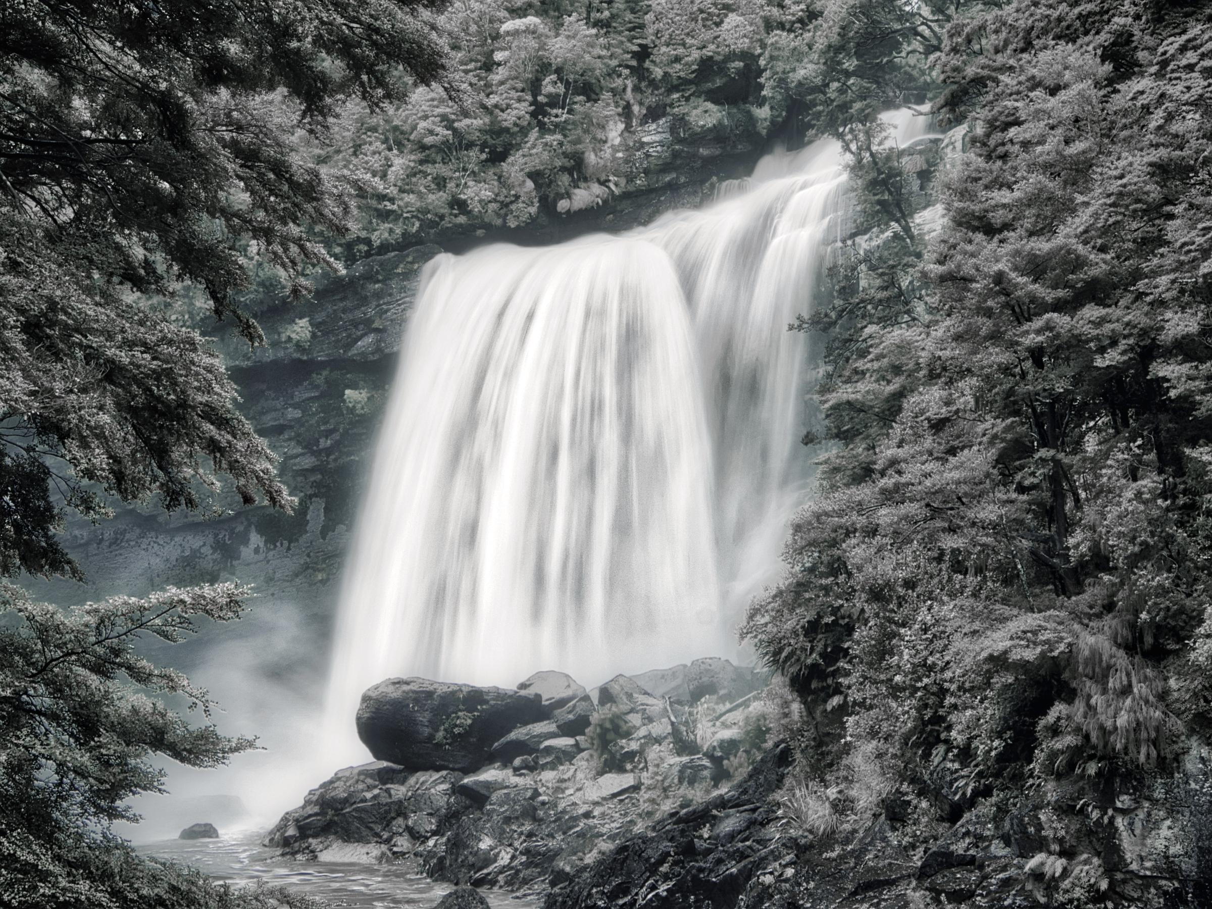 Mangatini Falls, Ngakawau River, NZ