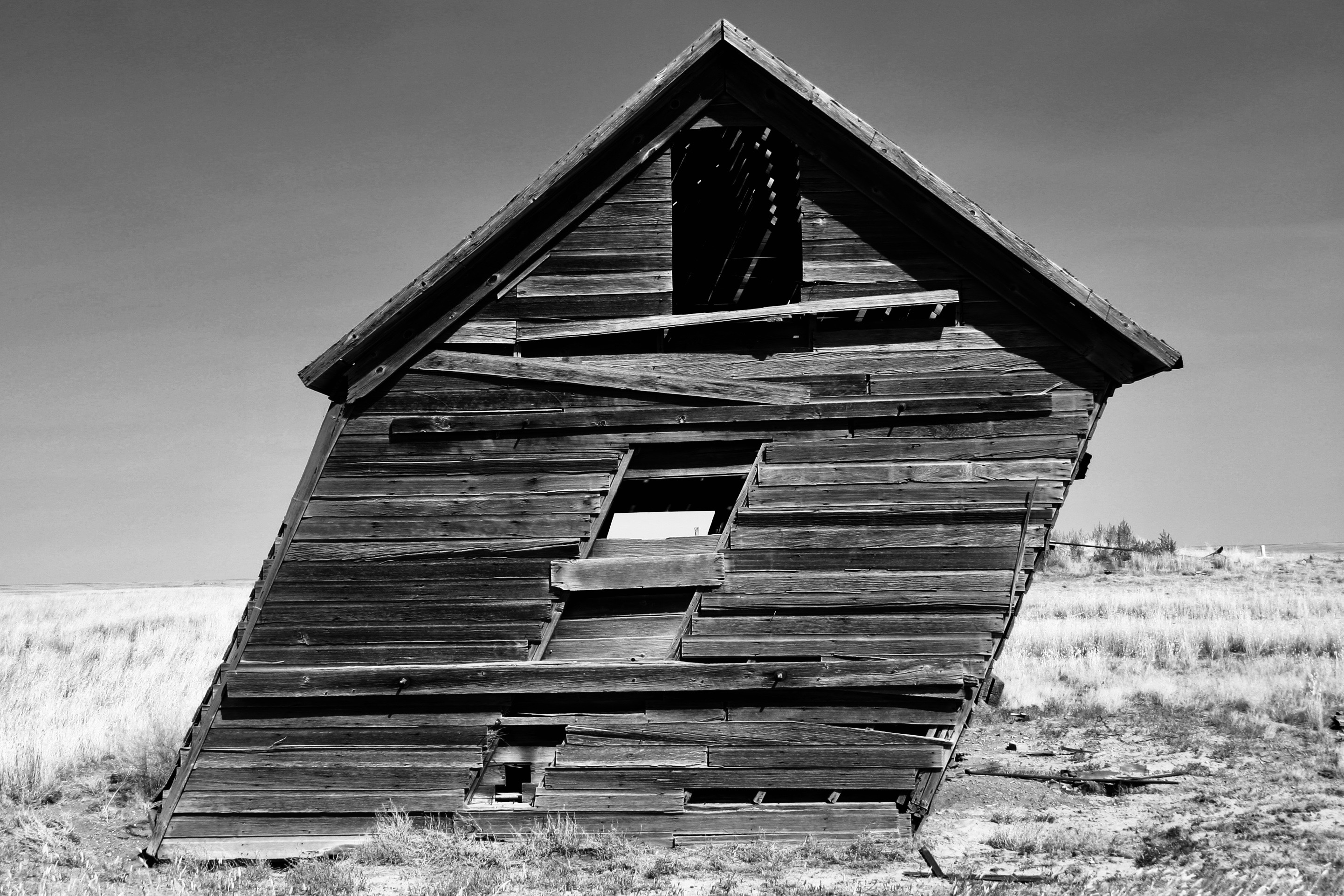 Abandoned granary north-central Montana.