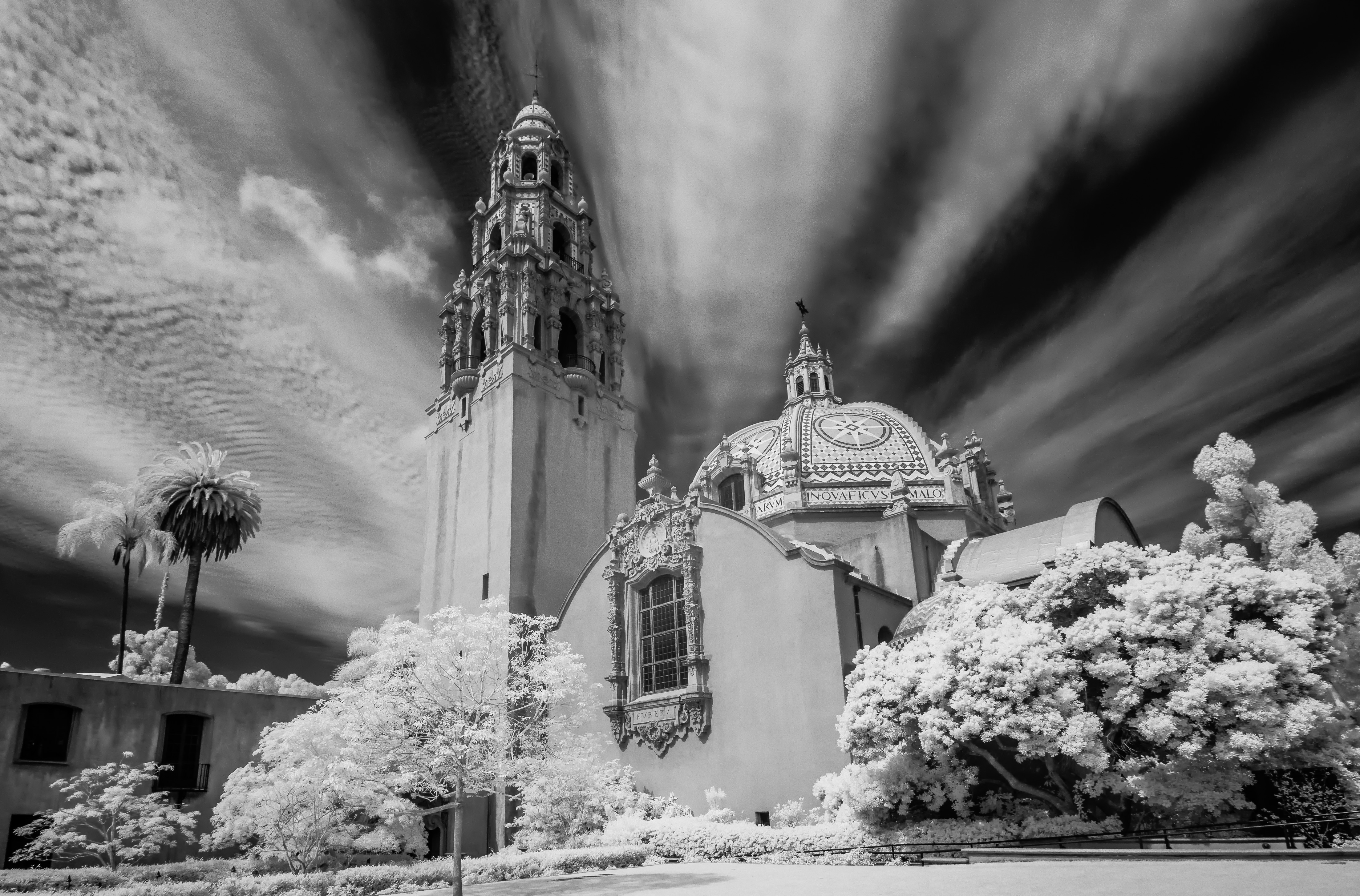 Balboa Park, San Diego infrared