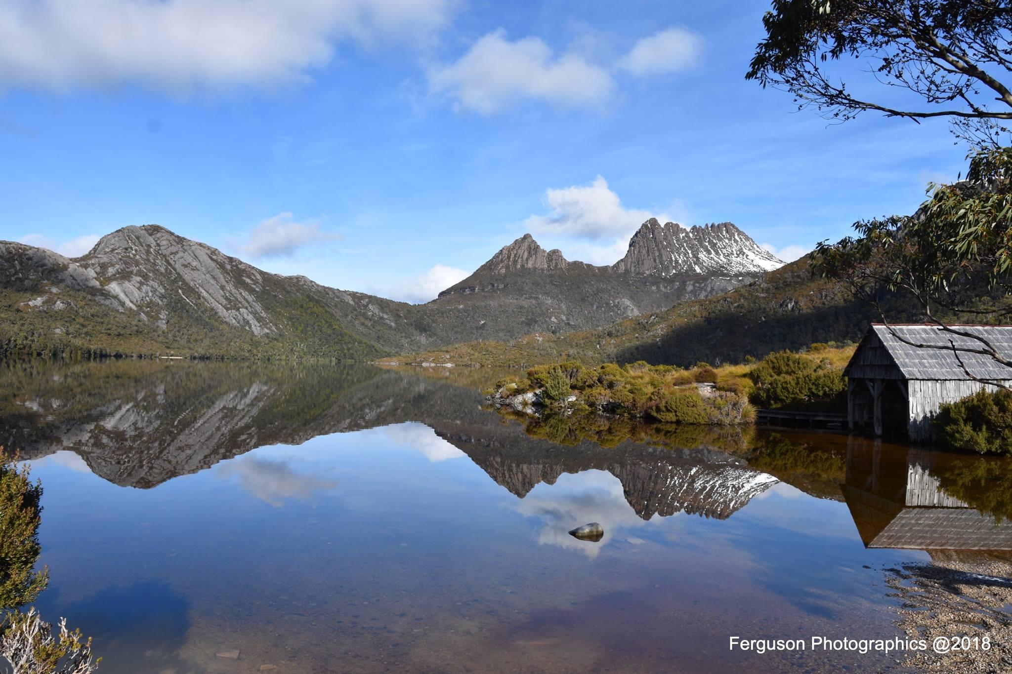 Dove Lake, Cradle Mountain Tasmania Australia