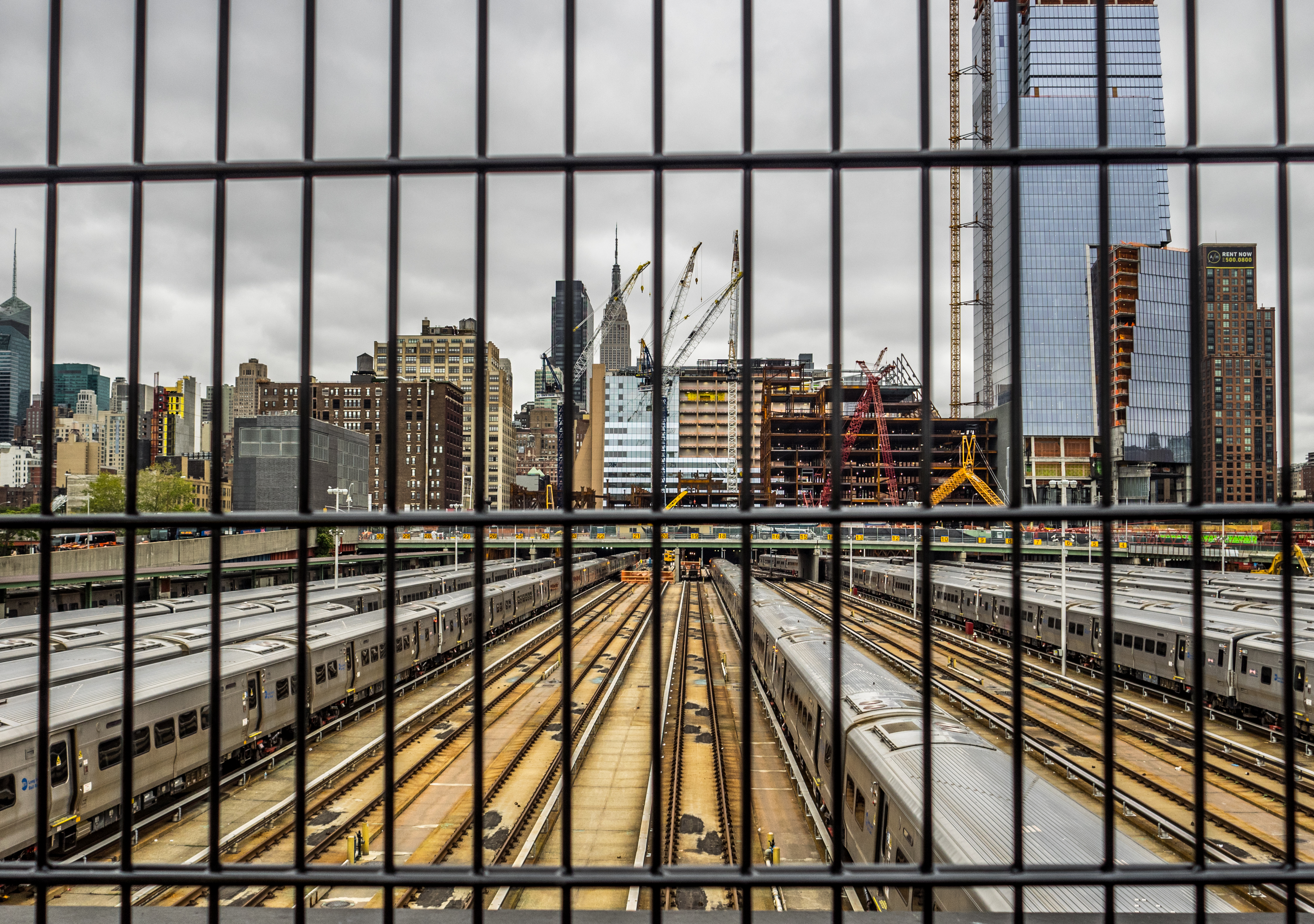 Hudson Yards prior to The Vessel