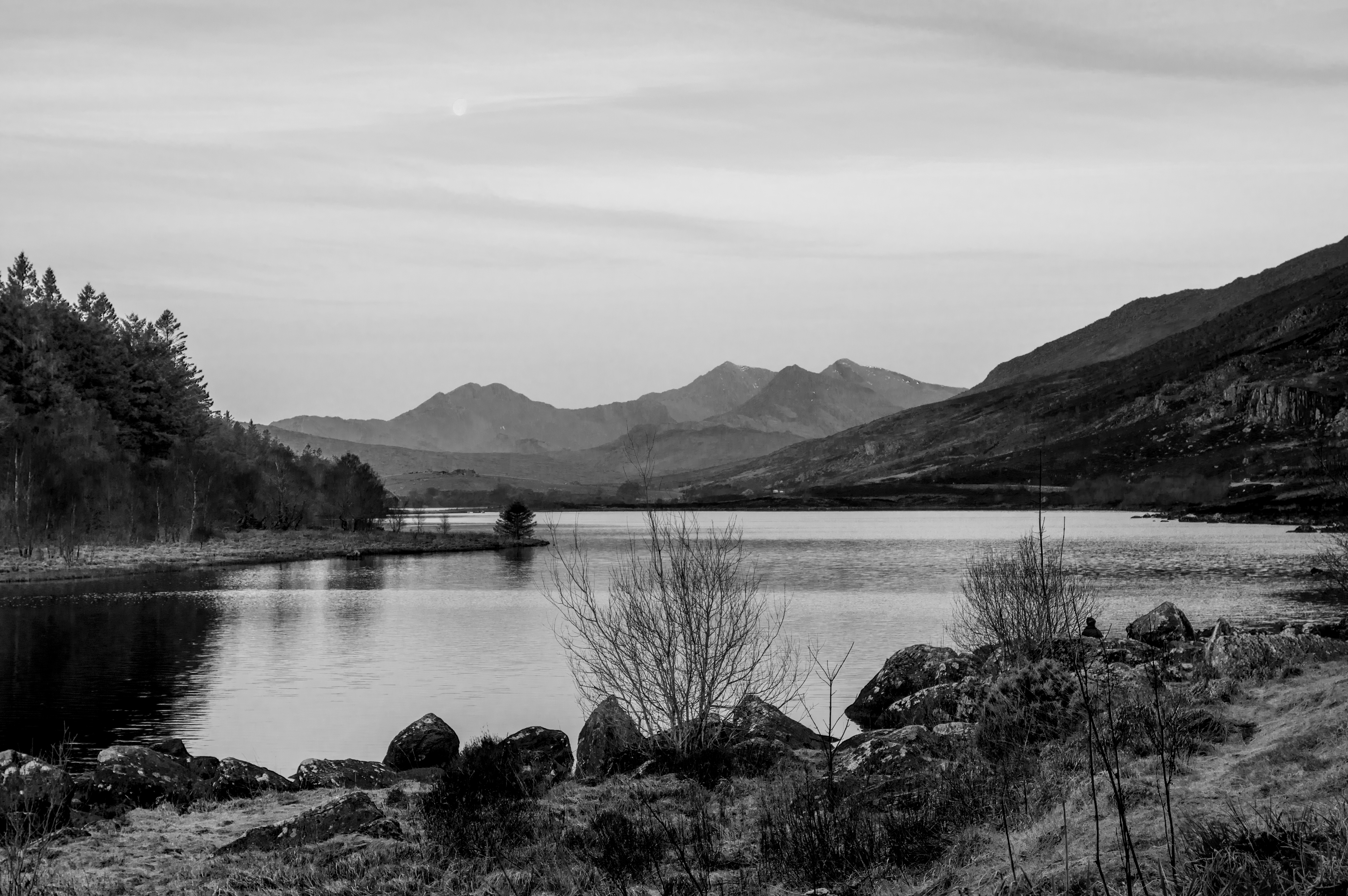 View from Plas y Brenin, Snowdonia