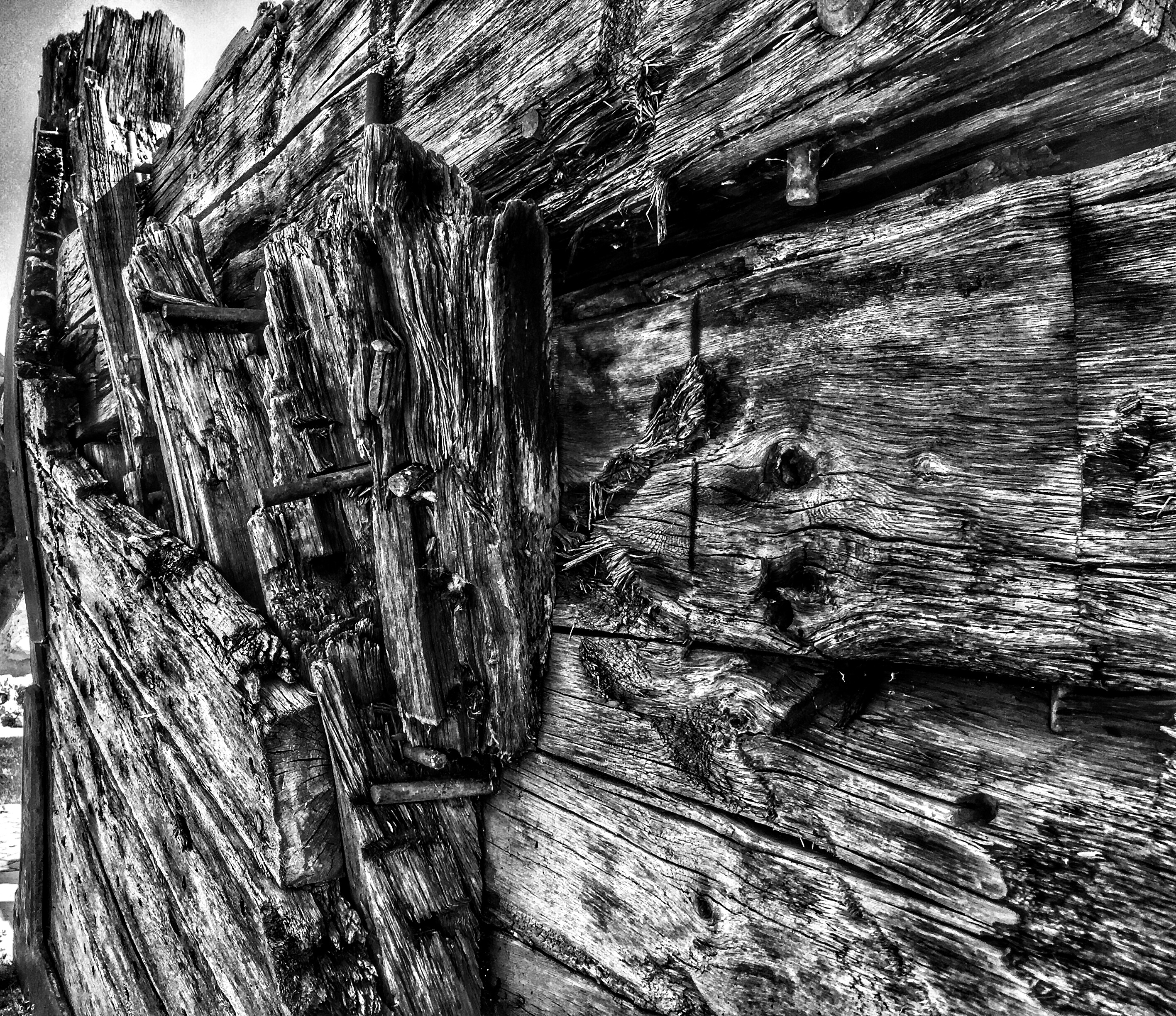 Derelict Boat Hull