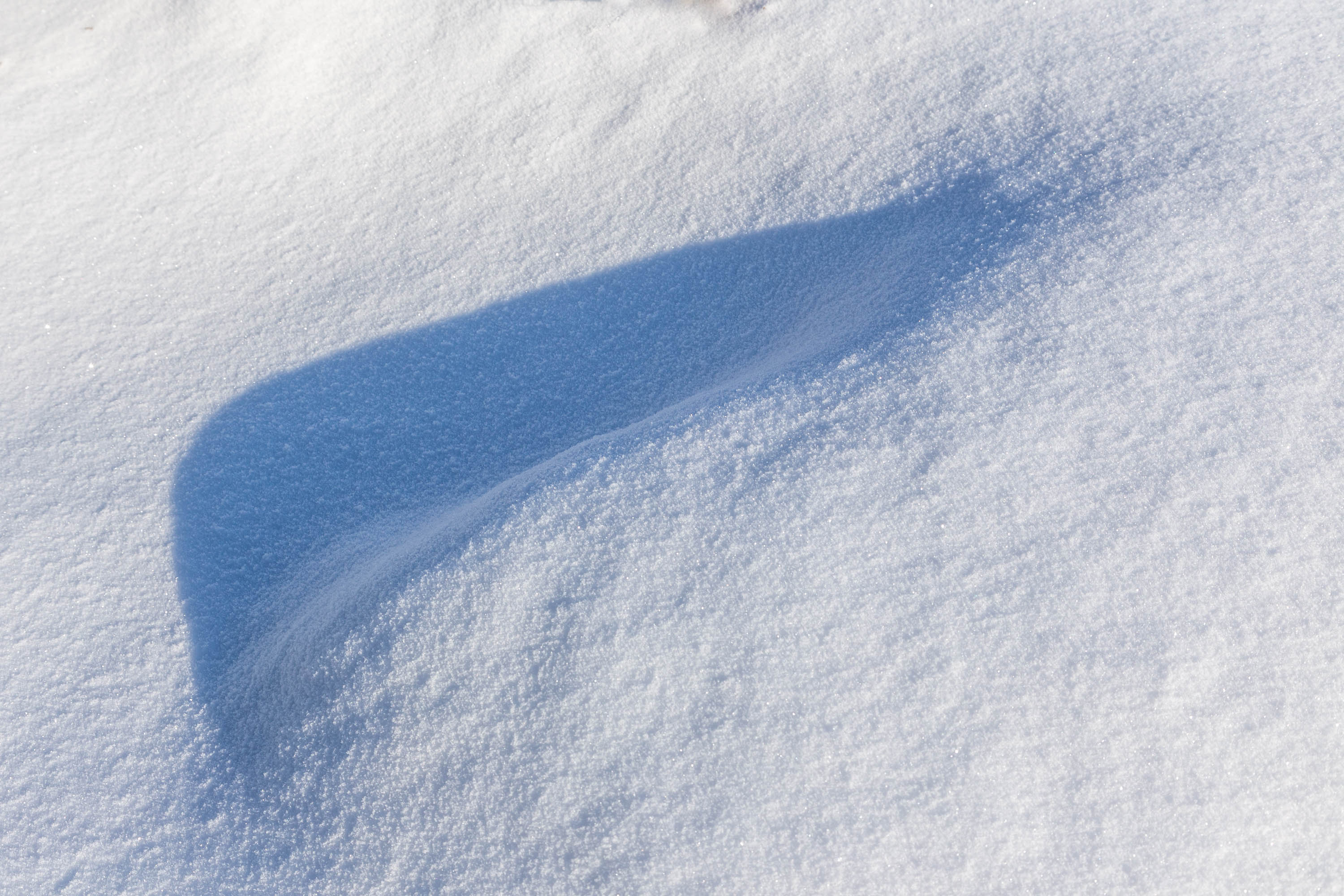 Shadow in snow