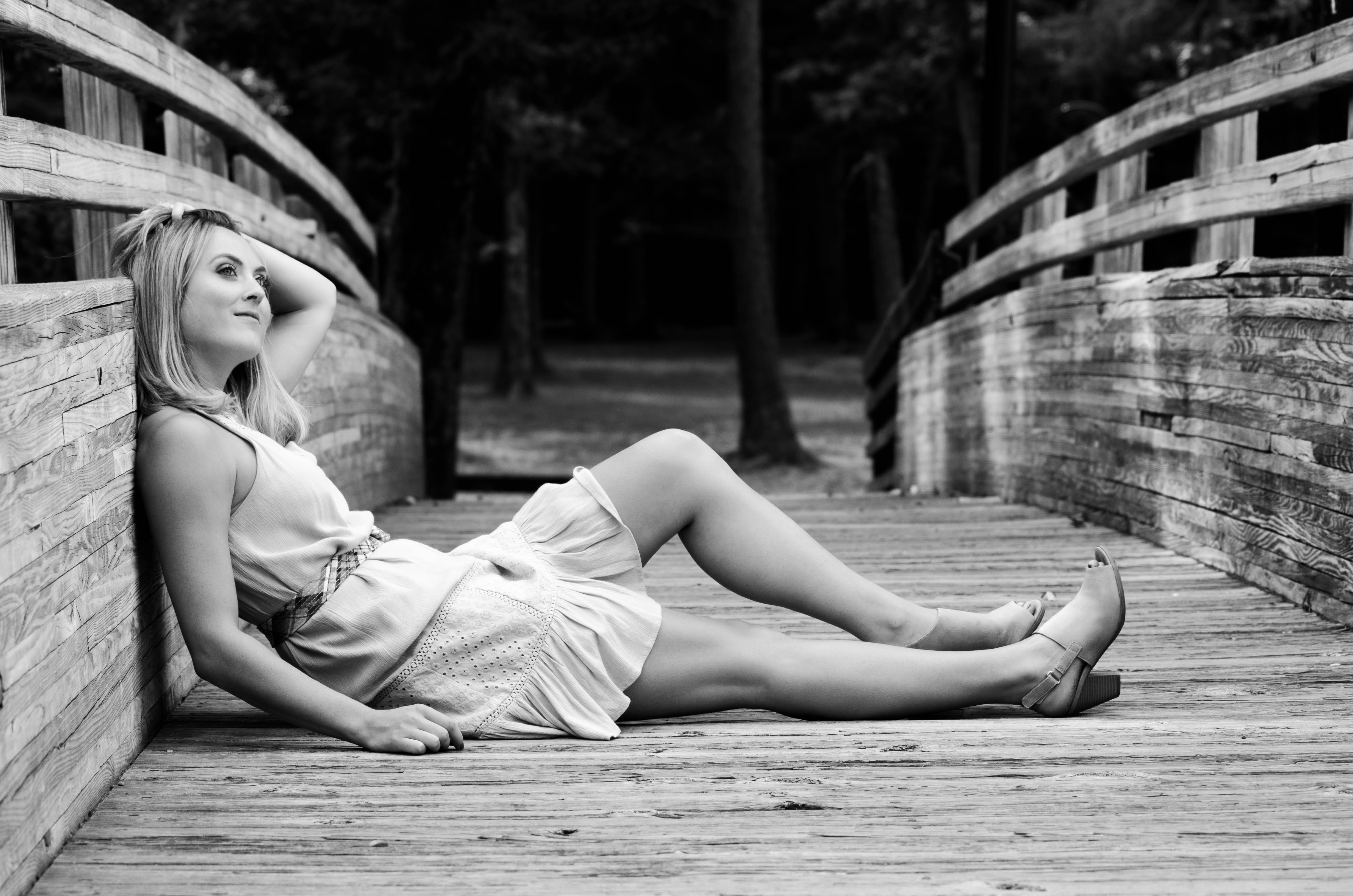 Black and White with Lyndsey