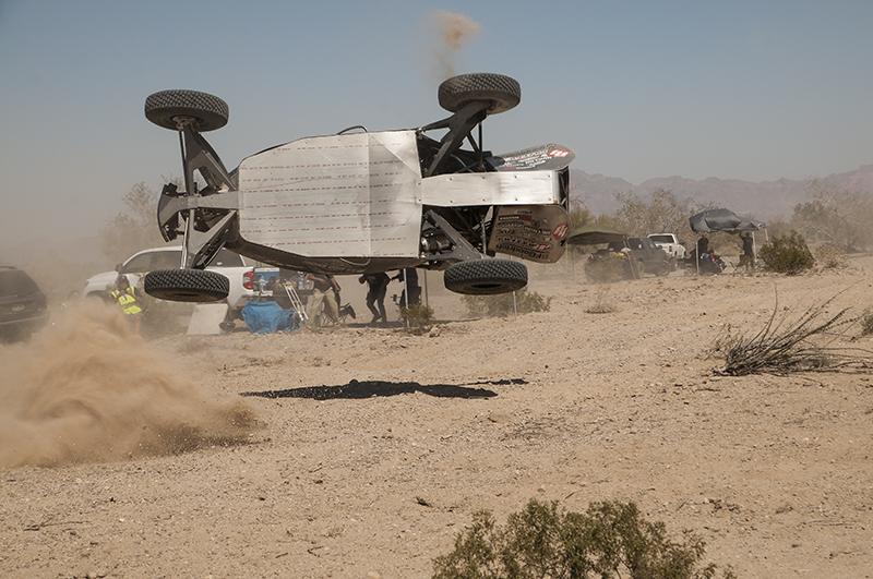 Racing in Baja Mexico