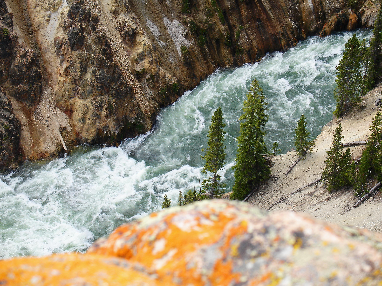 Below the Upper Falls